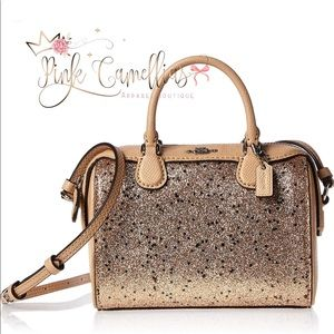 🌸Coach Micro Mini Bennett Star Satchel